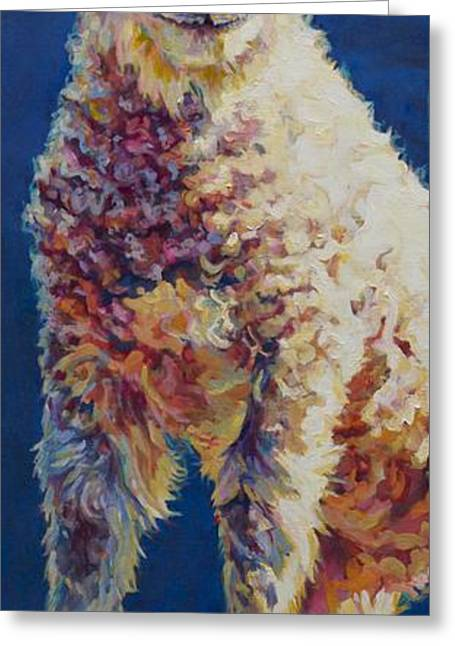 Ovine Greeting Cards - Fin Greeting Card by Patricia A Griffin