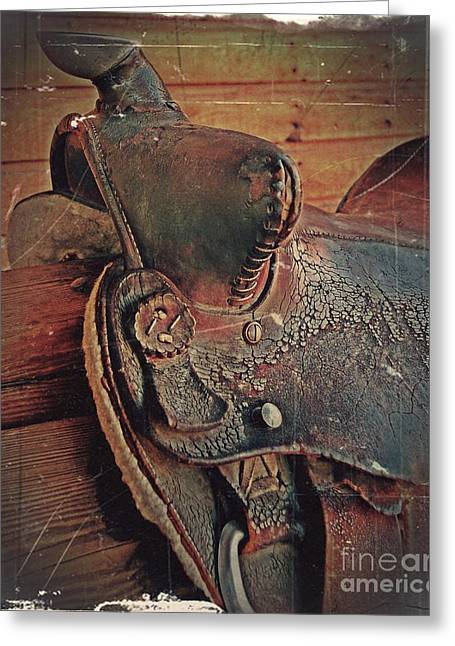 Cowboy Art Collector Greeting Cards - Final Ride Greeting Card by Steven Milner