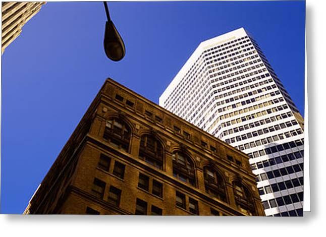 Financial District San Francisco Greeting Cards - Financial District, San Francisco Greeting Card by Panoramic Images