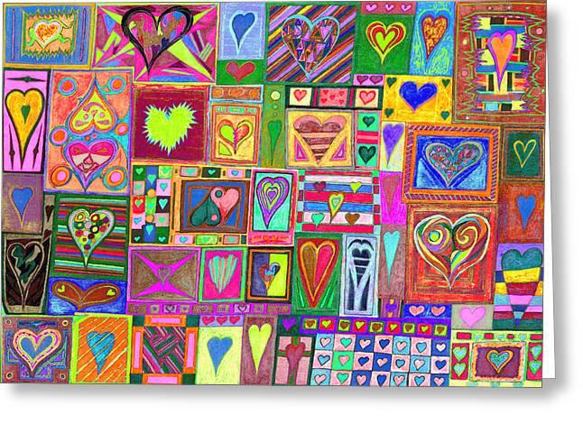 Kenneth James Greeting Cards - find Ur love found v6 Greeting Card by Kenneth James