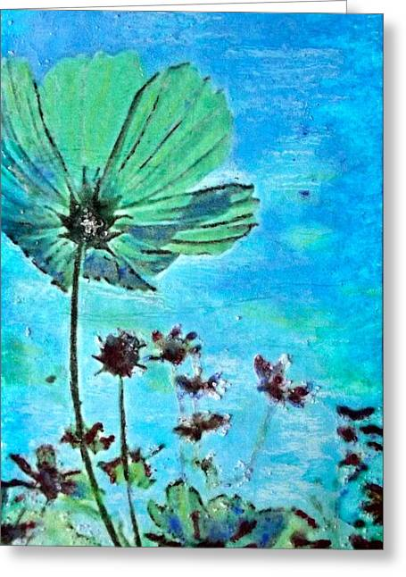 Survivor Art Greeting Cards - Finding Hope Greeting Card by Cara Frafjord