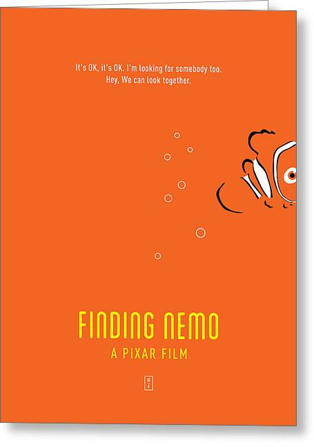 Nemo Greeting Cards - Finding Nemo Greeting Card by Smile In The  Mind