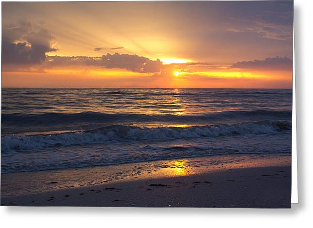 Ocean Landscape Greeting Cards - Finding Your Heart Greeting Card by Everett Houser