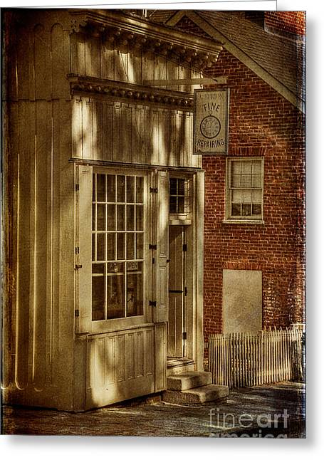 Harpers Ferry Digital Greeting Cards - Fine Repairs Greeting Card by Lois Bryan