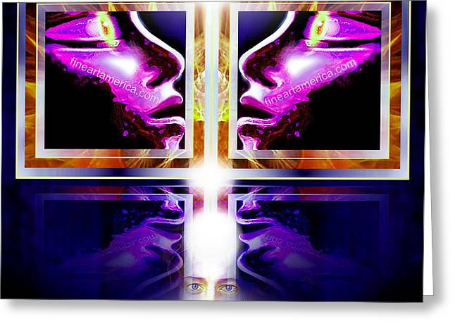 Fineartamerica Greeting Cards - Fineartamerica Art Visions Greeting Card by Hartmut Jager