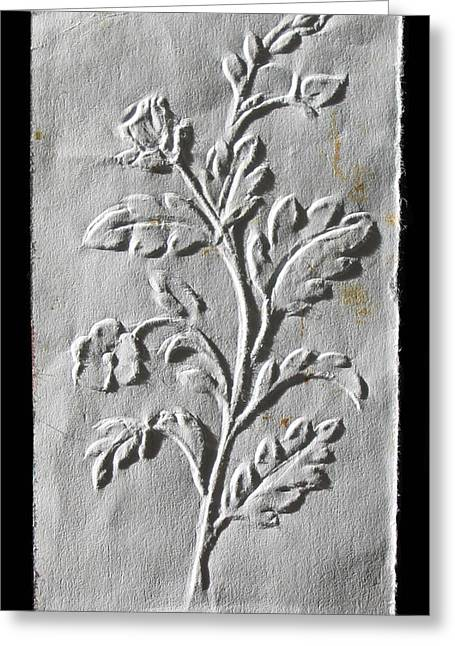 Drawing Reliefs Greeting Cards - Fingernail Relief Drawings Greeting Card by Suhas Tavkar