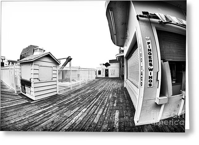 Seaside Heights Greeting Cards - Fingers Wings Greeting Card by John Rizzuto
