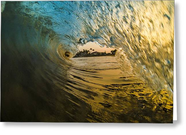 Fire And Ice Greeting Card by Brad Scott
