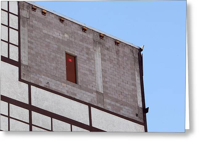 Las Vegas Art Greeting Cards - Fire Exit Only Greeting Card by Art Block Collections