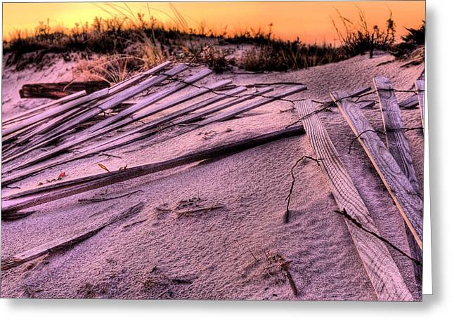Fire Island Greeting Card by JC Findley