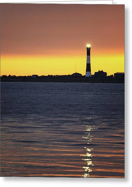 Fire Island Greeting Cards - Fire Island Sunrise Greeting Card by Vicki Jauron