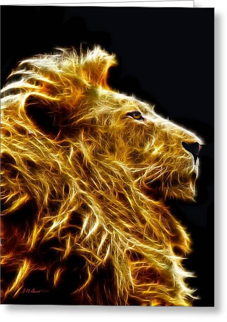 Bush Wildlife Greeting Cards - Fire King Greeting Card by Michael Durst