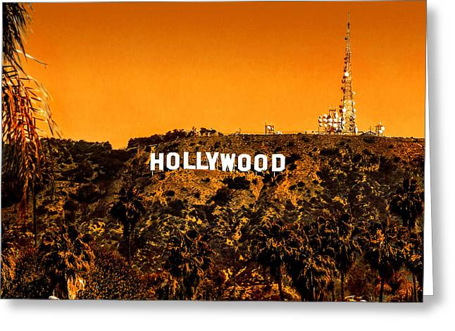 Hollywood Photographs Greeting Cards - Fired Up Greeting Card by Az Jackson