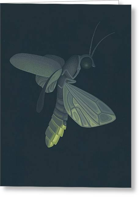 Firefly Greeting Cards - Firefly Greeting Card by Nathan Marcy
