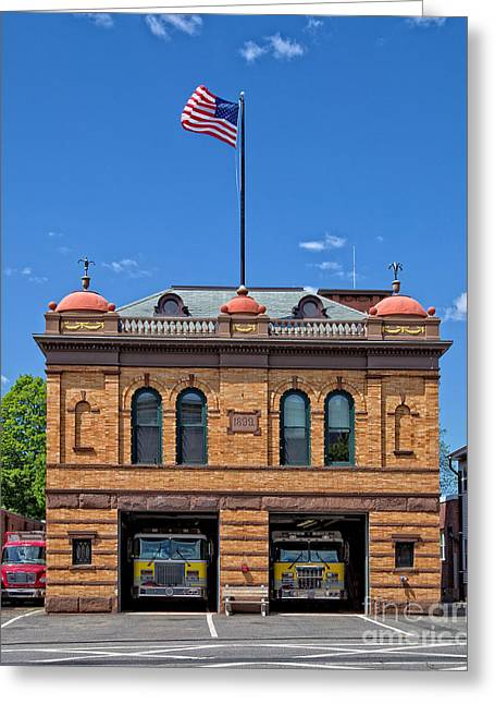 Firehouse Middletown Connecticut Photograph By Edward Fielding