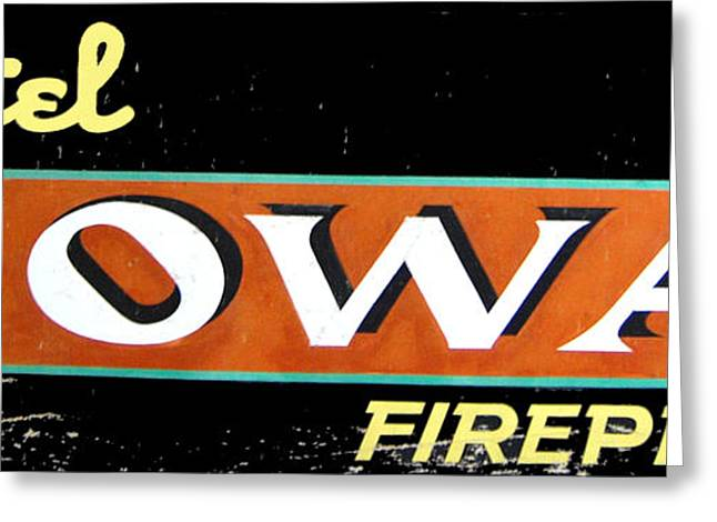 Fireproof- Hotel Iowa Greeting Card by Jame Hayes
