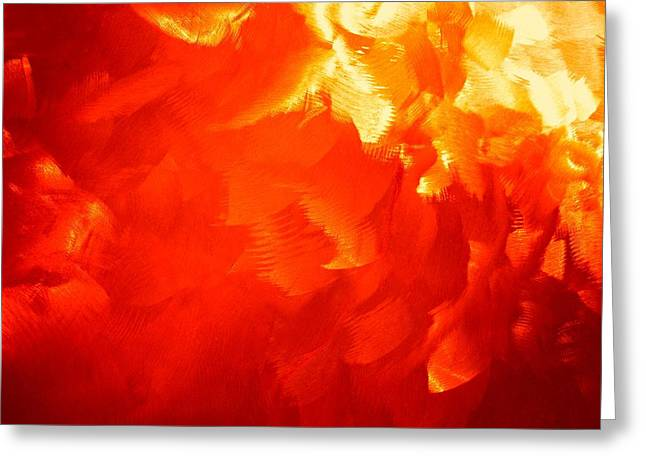 Firestorm Greeting Cards - Firestorm Greeting Card by Barbara Drake