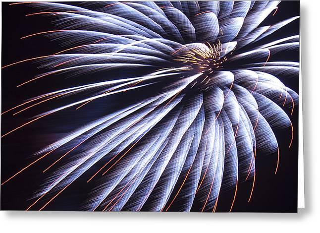 Twinkle Greeting Cards - Firework 04 Greeting Card by Svetlana Sewell