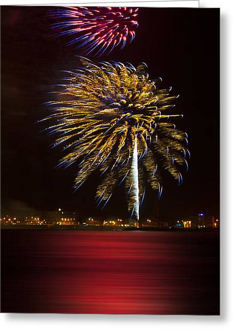 Twinkle Greeting Cards - Firework 09 Greeting Card by Svetlana Sewell