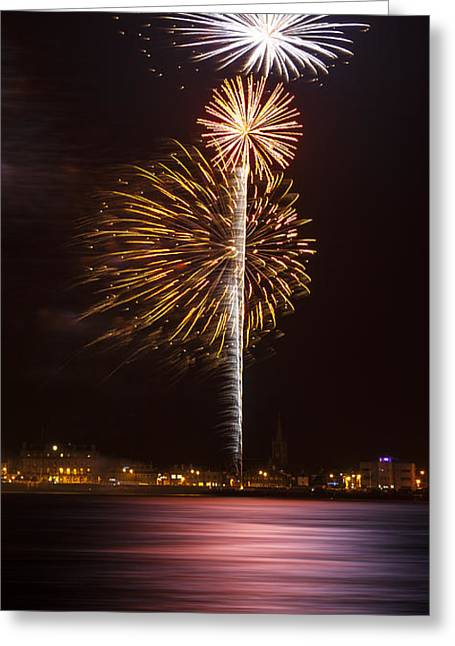 Twinkle Greeting Cards - Firework 10 Greeting Card by Svetlana Sewell