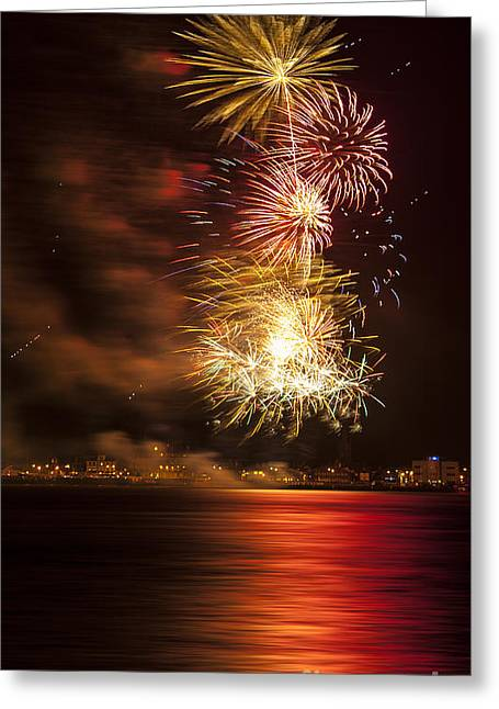 Twinkle Greeting Cards - Firework 11 Greeting Card by Svetlana Sewell