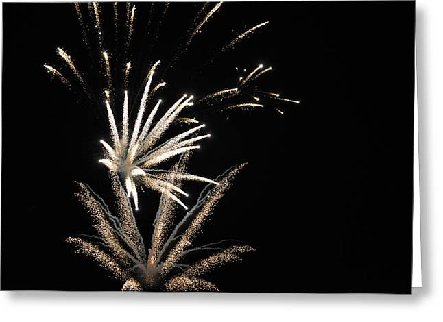4th July Greeting Cards - Firework001 Greeting Card by Cameron Warren