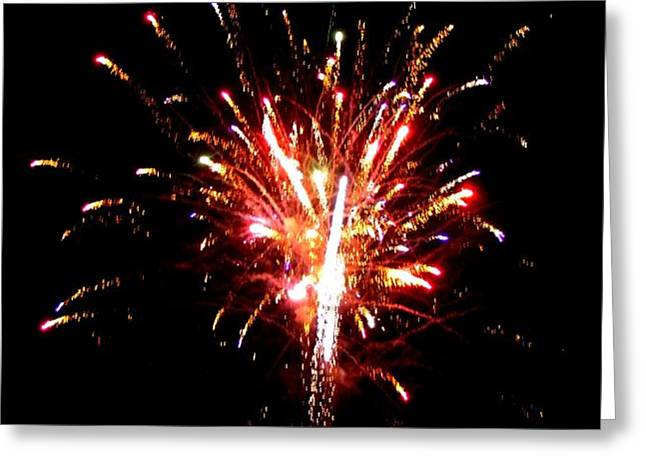 Fireworks 10 Greeting Card by Mark Malitz