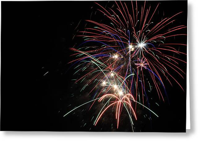 Fireworks 10 Greeting Card by Penny Rogers