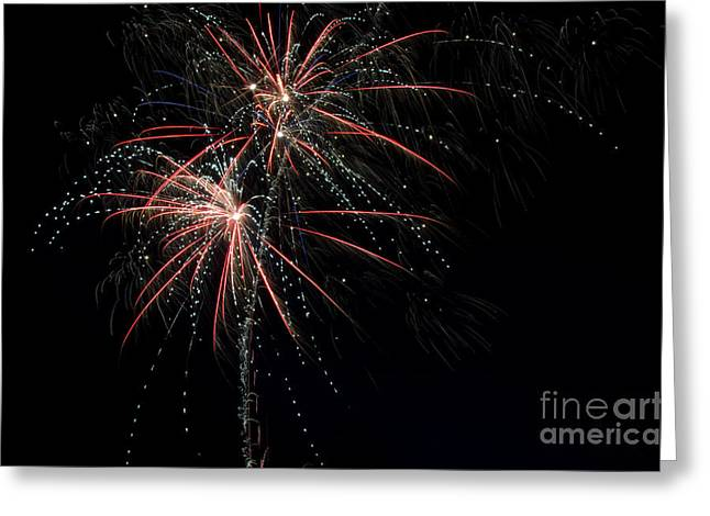 Independance Day Greeting Cards - Fireworks 13 Greeting Card by Cassie Marie Photography