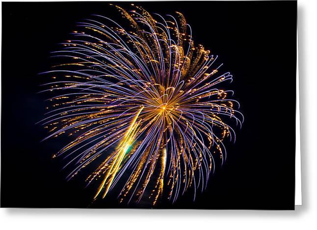 Holiday Blast Greeting Cards - Fireworks 15 Greeting Card by Paul Freidlund