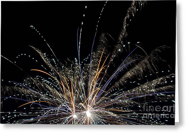 Independance Day Greeting Cards - Fireworks 17 Greeting Card by Cassie Marie Photography