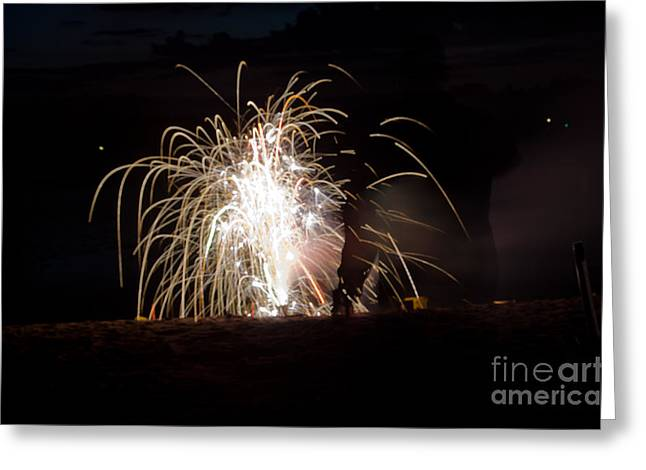 Independance Day Greeting Cards - Fireworks 18 Greeting Card by Cassie Marie Photography