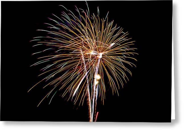 Cheap Abstract Art Greeting Cards - Fireworks 2 Greeting Card by Paul Freidlund