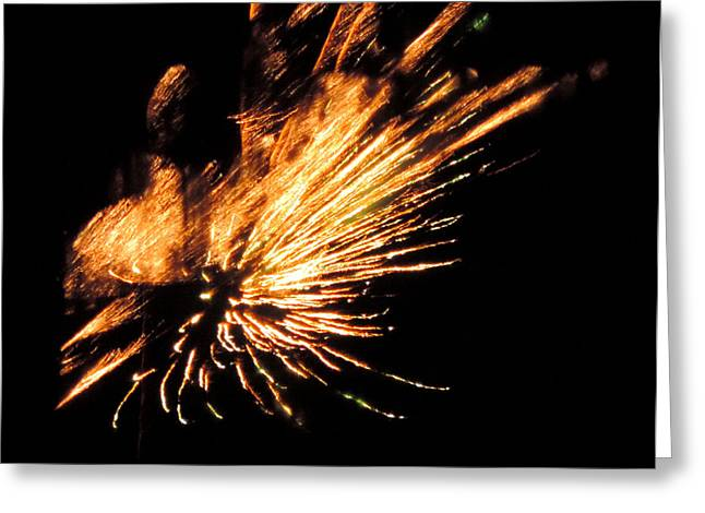 Fireworks 2 Greeting Card by Stephanie Kendall