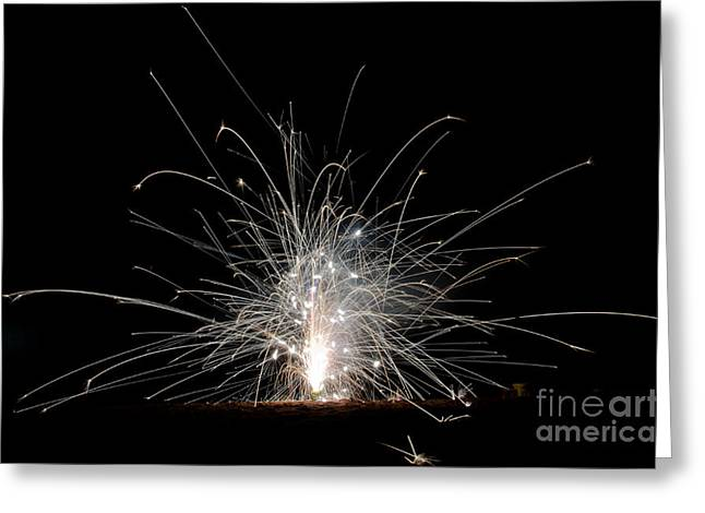 Independance Day Greeting Cards - Fireworks 22 Greeting Card by Cassie Marie Photography