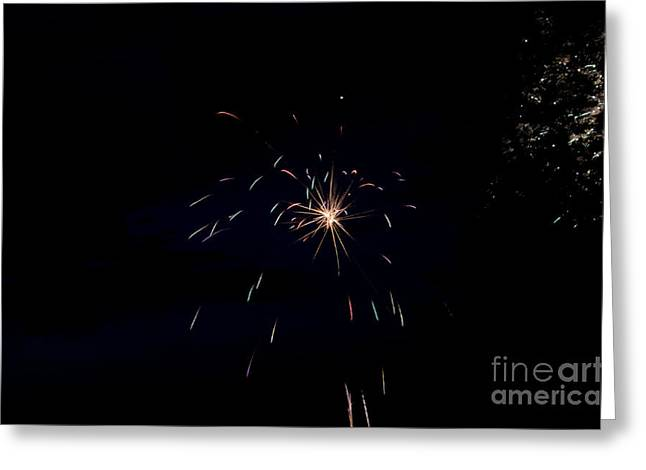 Independance Day Greeting Cards - Fireworks 28 Greeting Card by Cassie Marie Photography