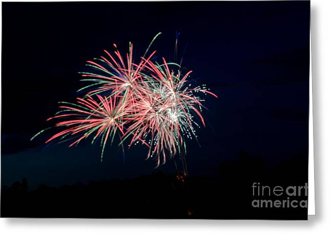 Independance Greeting Cards - Fireworks 33 Greeting Card by Cassie Marie Photography