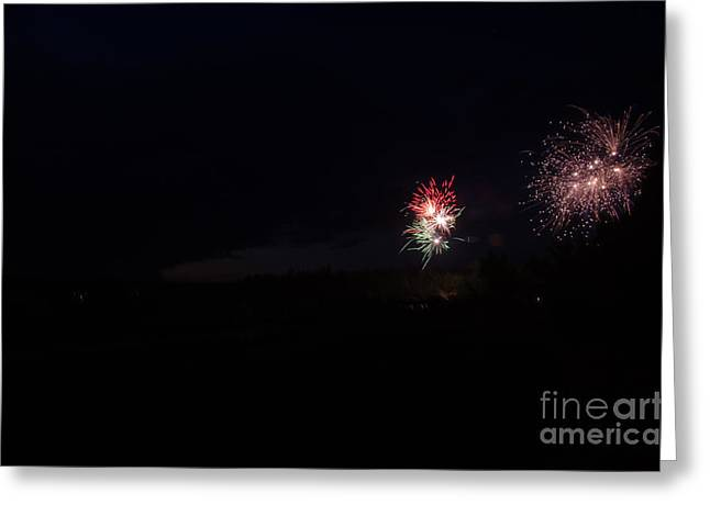 Independance Day Greeting Cards - Fireworks 37 Greeting Card by Cassie Marie Photography