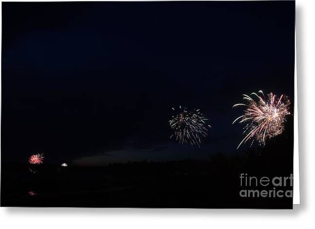 Independance Greeting Cards - Fireworks 38 Greeting Card by Cassie Marie Photography