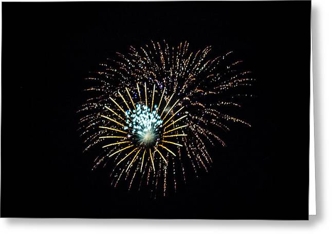 Fireworks 4 Greeting Card by Black Brook Photography