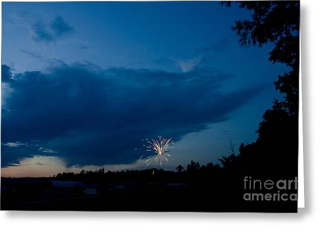 Independance Greeting Cards - Fireworks 4 Greeting Card by Cassie Marie Photography