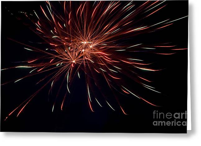 Independance Day Greeting Cards - Fireworks 40 Greeting Card by Cassie Marie Photography
