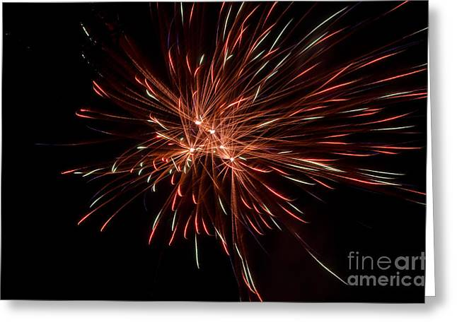 Independance Day Greeting Cards - Fireworks 42 Greeting Card by Cassie Marie Photography