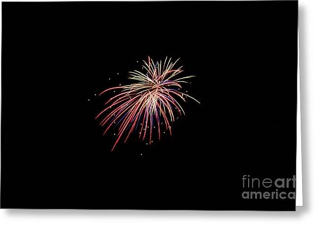 Independance Greeting Cards - Fireworks 44 Greeting Card by Cassie Marie Photography