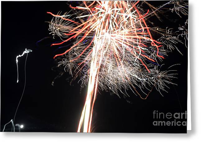 Independance Greeting Cards - Fireworks 45 Greeting Card by Cassie Marie Photography