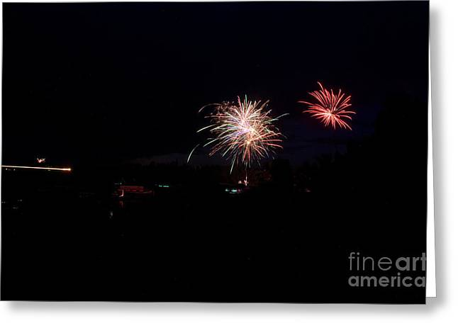 Independance Day Greeting Cards - Fireworks 49 Greeting Card by Cassie Marie Photography