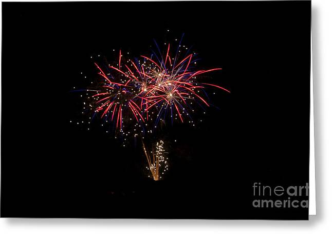 Independance Day Greeting Cards - Fireworks 52 Greeting Card by Cassie Marie Photography