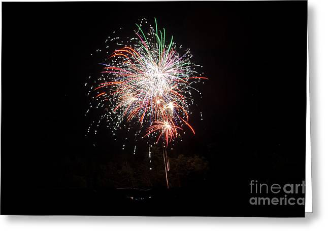 Independance Day Greeting Cards - Fireworks 54 Greeting Card by Cassie Marie Photography