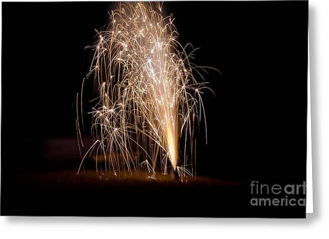 Independance Day Greeting Cards - Fireworks 7 Greeting Card by Cassie Marie Photography