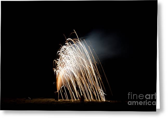 Independance Greeting Cards - Fireworks 8 Greeting Card by Cassie Marie Photography